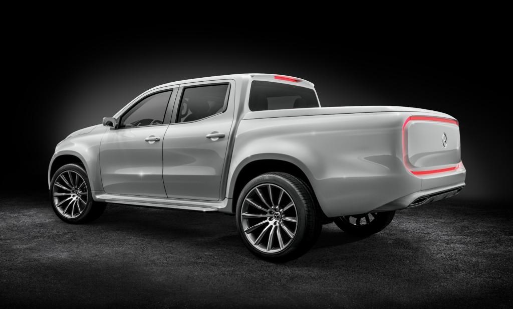 Mercedes-Benz X-Class pickup truck concept