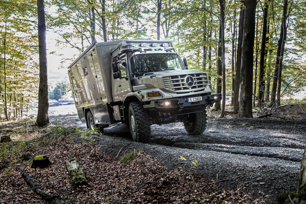 Unimog-Based Mercedes-Benz Zetros Is One Extreme RV