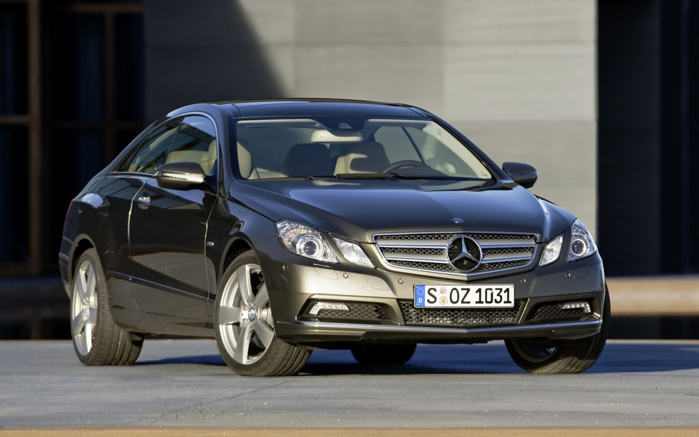 Review: 2010 Mercedes-Benz E-Class Coupe