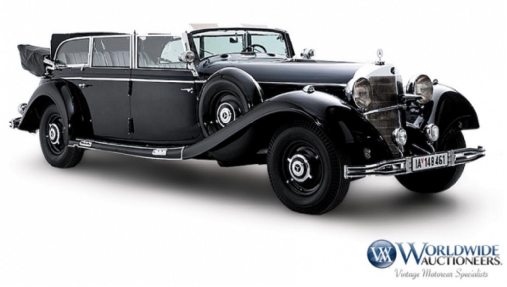 Hitler\'s 1939 Mercedes-Benz heads to auction