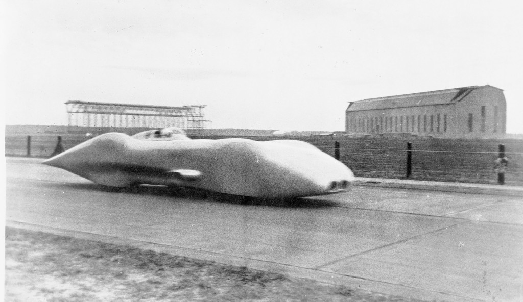 1938 Mercedes-Benz W125 top-speed record run