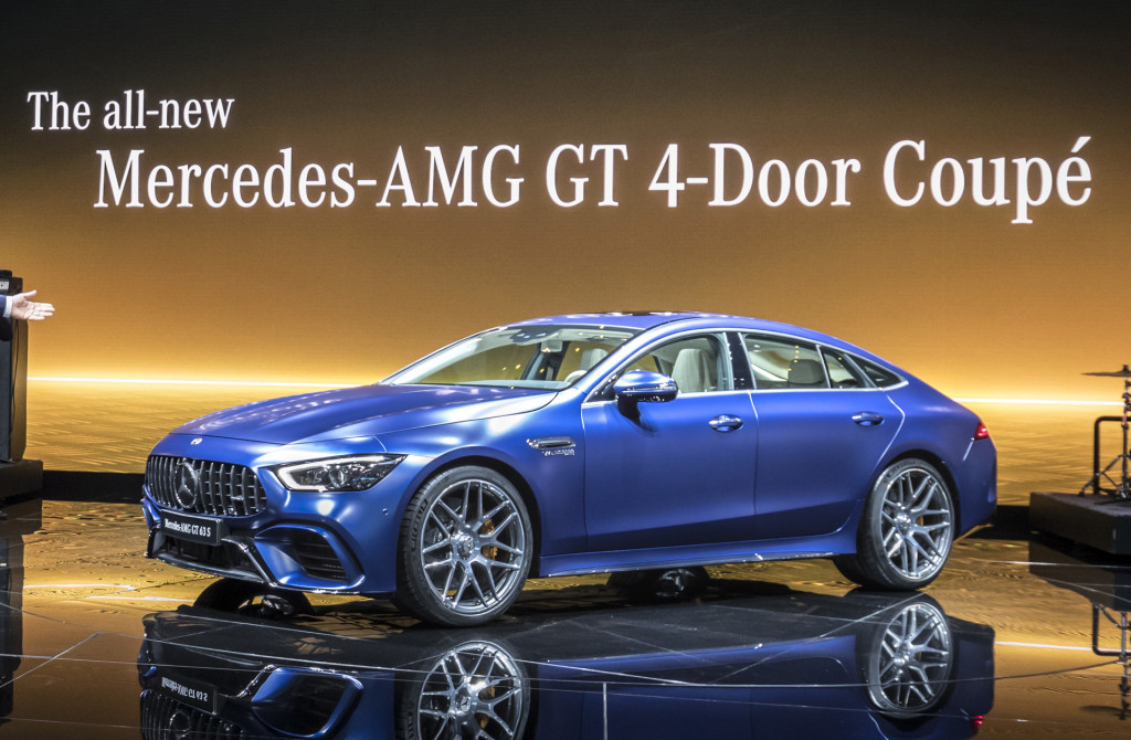 2019 Mercedes-AMG GT 4-Door Coupe