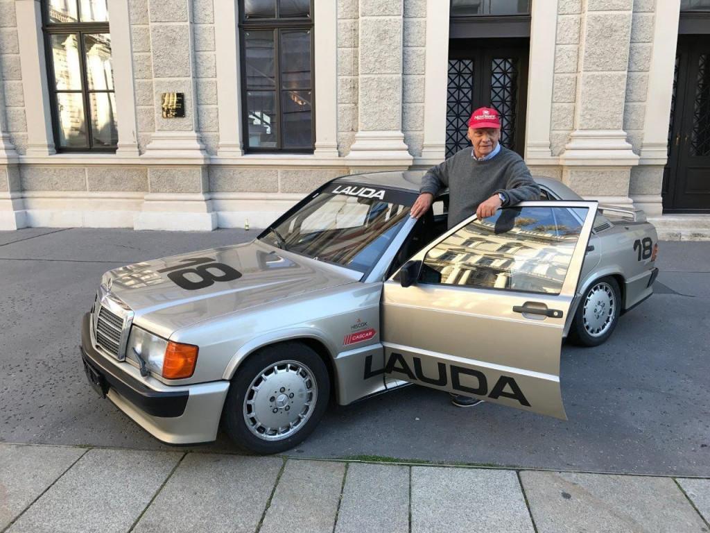 Mercedes-Benz 190 2.3-16V raced by Niki Lauda at Nürburgring for sale