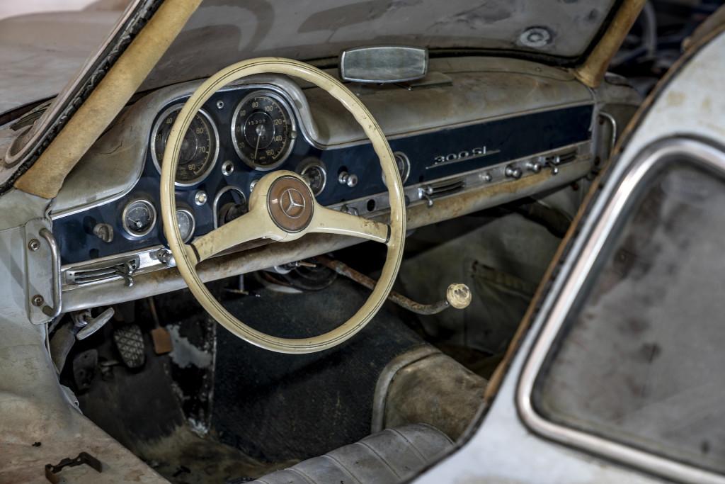 1954 Mercedes-Benz 300SL unrestored