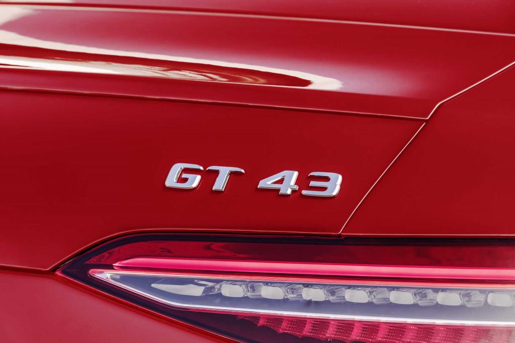 2021 Mercedes-AMG GT 43 4-Door Coupe