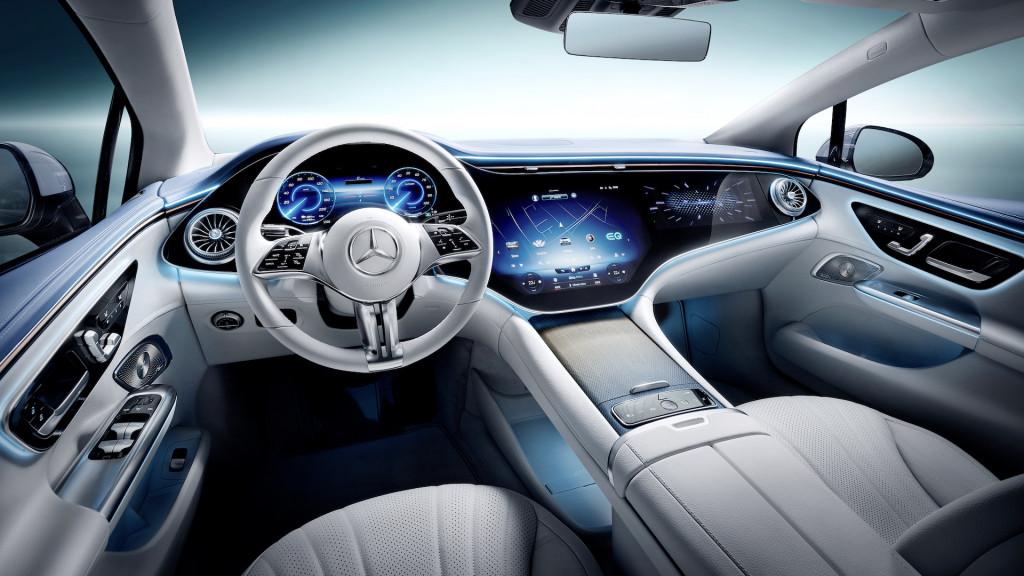 Mercedes-Benz EQE 2023 года