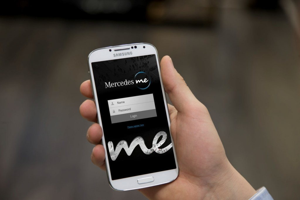 Mercedes me personal service brand