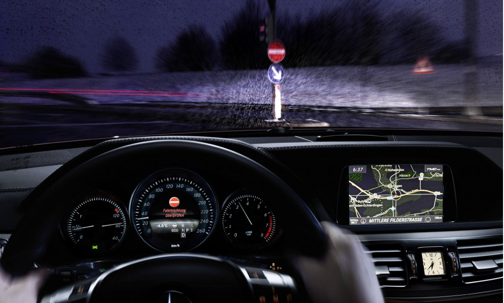 Mercedes' new safety technology has been upgraded to recognize more street signs