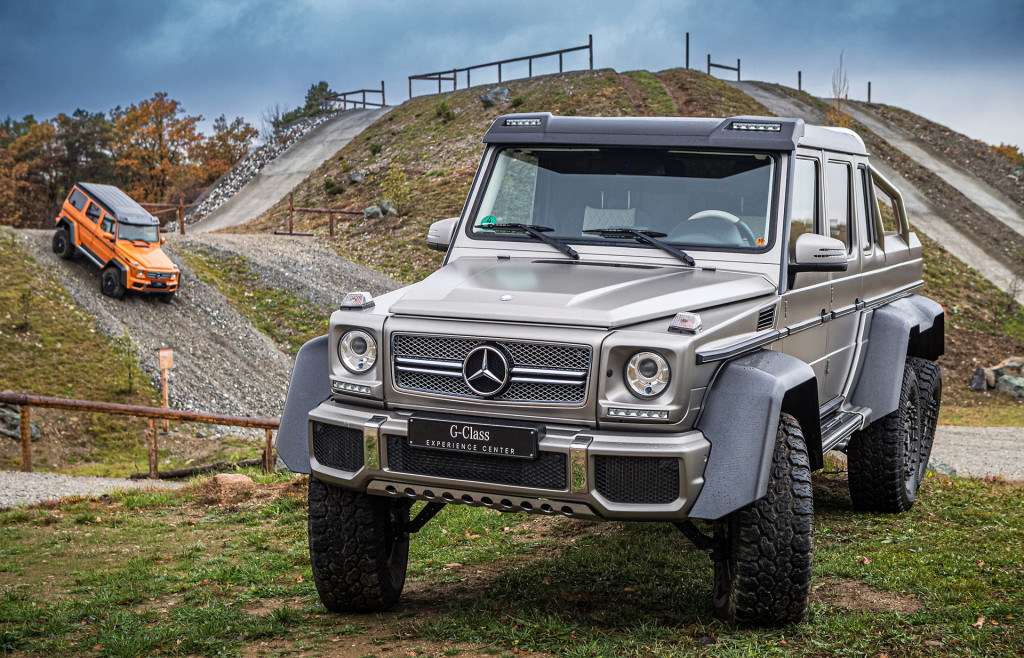 Off-road playpen: Mercedes opens G-Class experience center at SUV's home