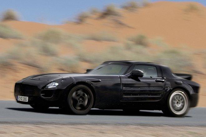 Mercedes SLS Spy Shot