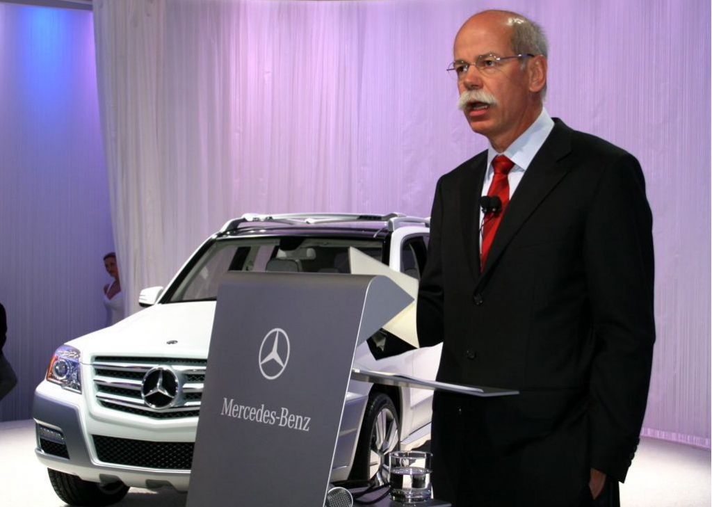 Mercedes-Benz, Dieter Zetsche and Palast Orchester