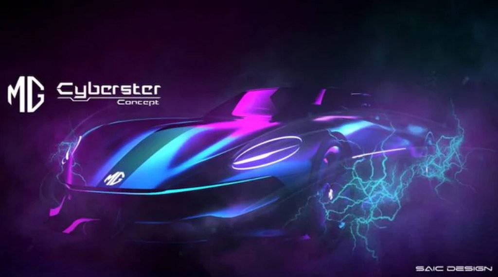 MG hints at electric roadster with Cyberster concept