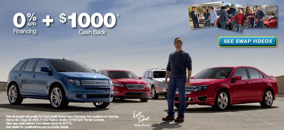 Ford Launches Swap Your Ride Campaign Offering 1000 Bonus And