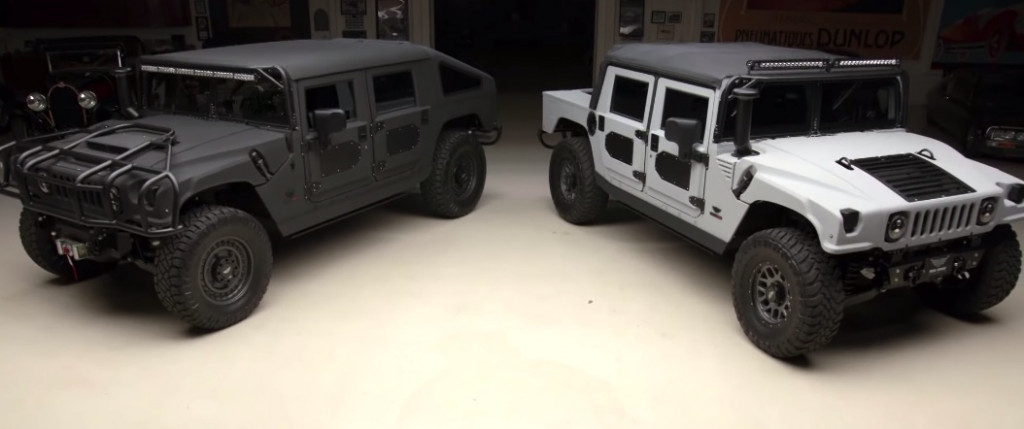 Mil-Spec and its reborn Hummers star on Jay Leno's Garage