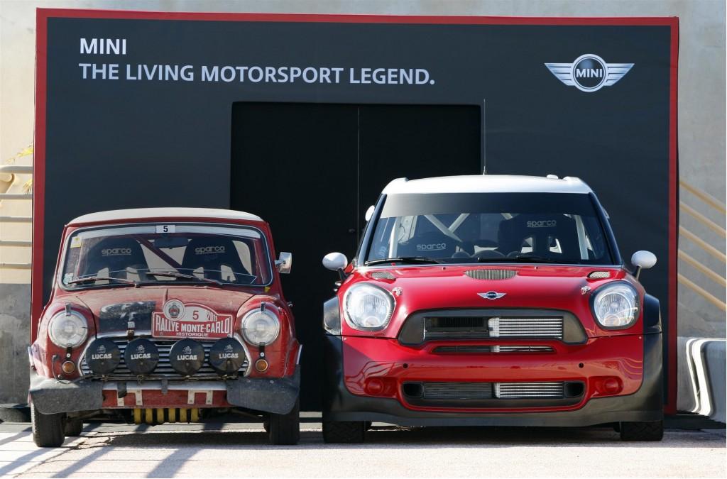 Image: MINI and Mini at the Rally Monte Carlo Historique, size: 1024 ...