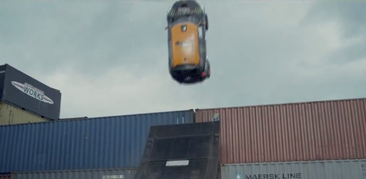 MINI attempts first-ever unassisted backflip in a car
