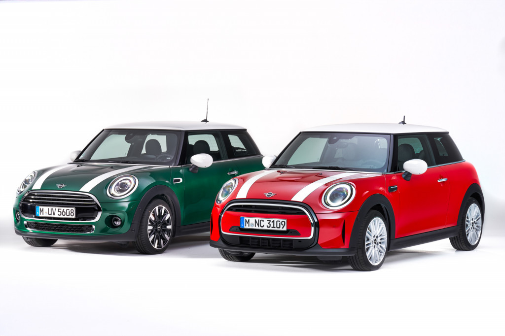 2022 Mini Cooper refreshed with new bumpers, $500 price bump