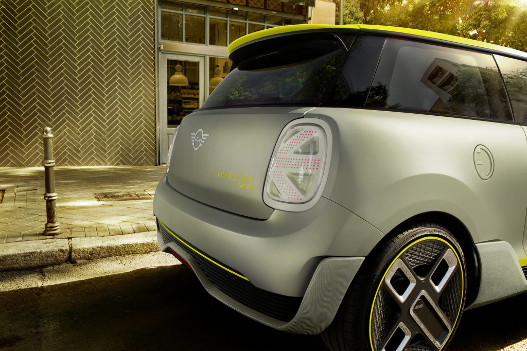 Mini Electric Concept rendering, 2017 Frankfurt auto show