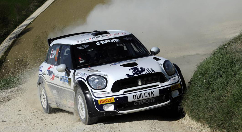 MINI Wins On Debut At Italy\'s Rally dell\'Adriatico