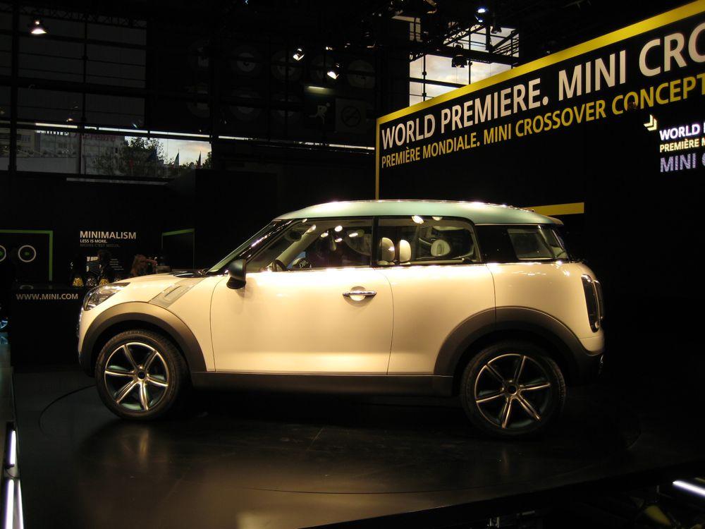 2011 MINI Crossman Concept (2008 Paris auto show)
