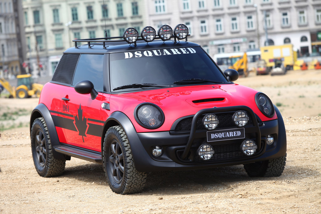 One Off Mini Cooper For Life Ball Charity Wets Taste For Off Road