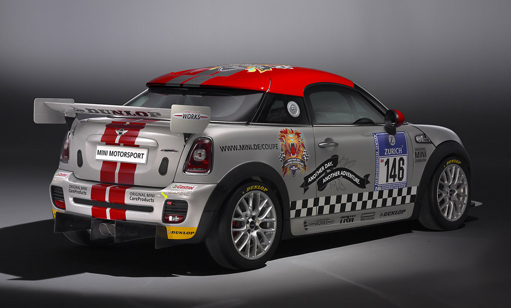 2012 Mini John Cooper Works Coupe To Tackle Nurburgring 24 Hours