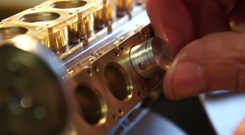 Miniature W-18 Engine Build Is Mesmerizing: Video