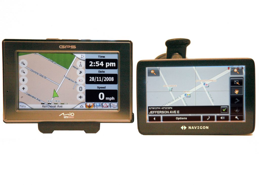 Mio and Navigon GPS