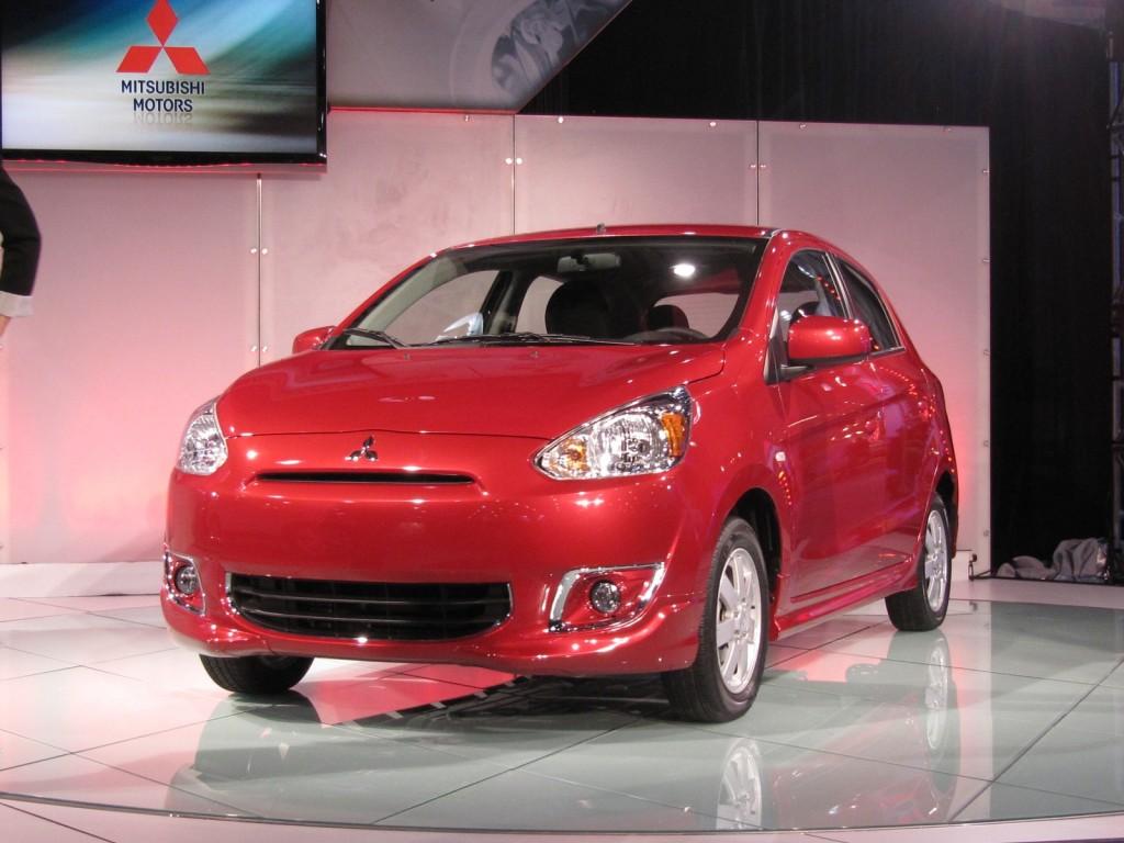 2014 Mitsubishi Mirage at 2013 New York Auto Show