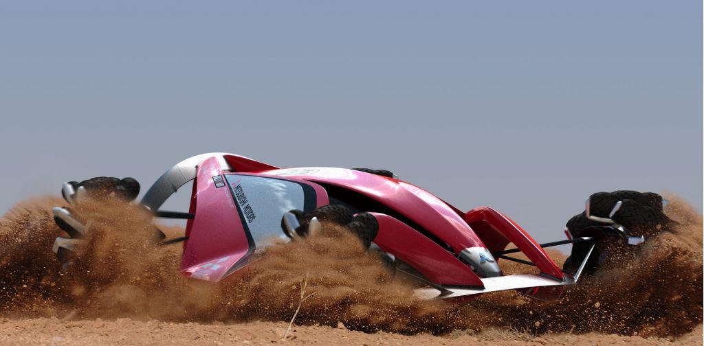 Mitsubishi MMR25 Rally Racer