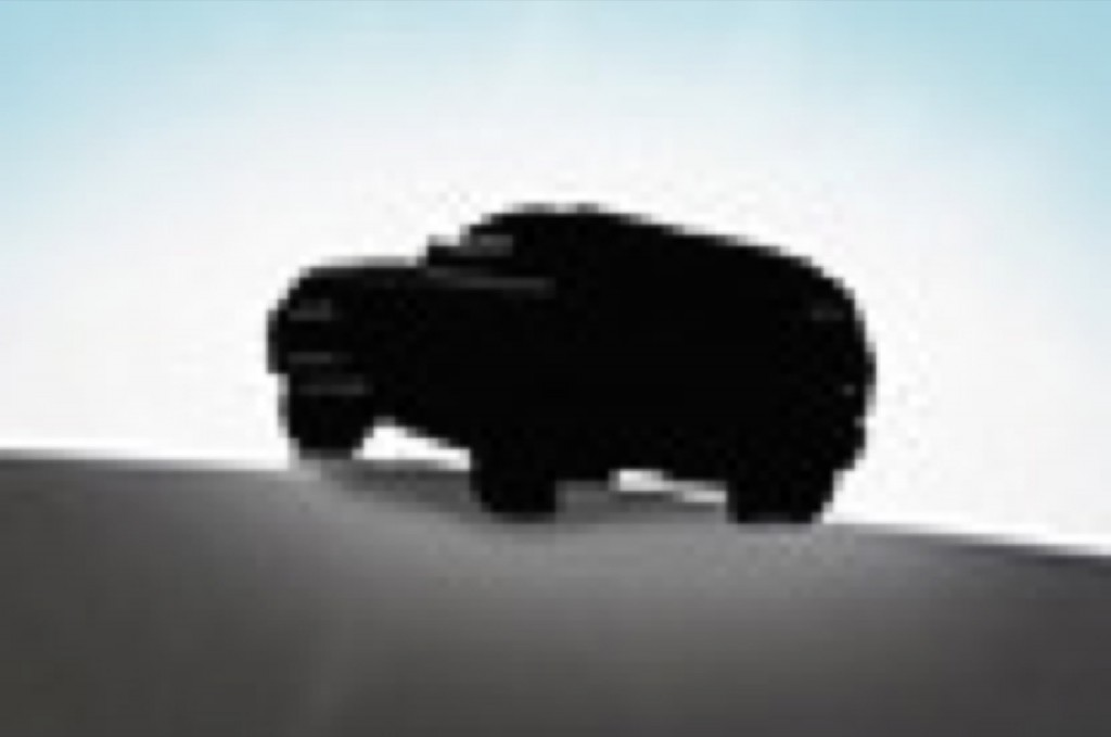 Mitsubishi Montero teaser lead for 2015 Chicago Auto Show (thumbnail)
