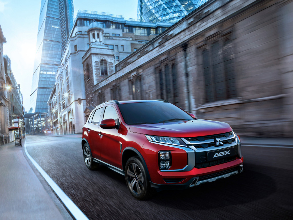 Reworked 2020 Mitsubishi Outlander Sport bows with Eclipse Sport Cross style