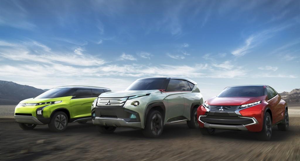 Mitsubishi XR-PHEV, GC-PHEV and AR concepts, 2013 Tokyo Motor Show