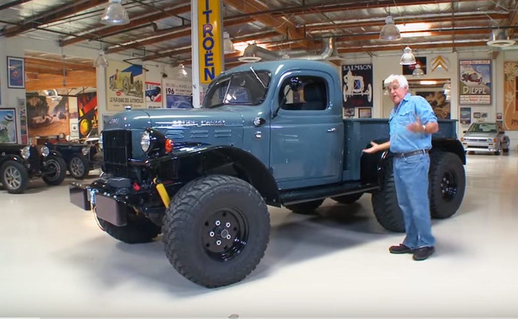 G550 For Sale >> Jay Leno Drives A Six-Wheeled Dodge Power Wagon Restomod ...