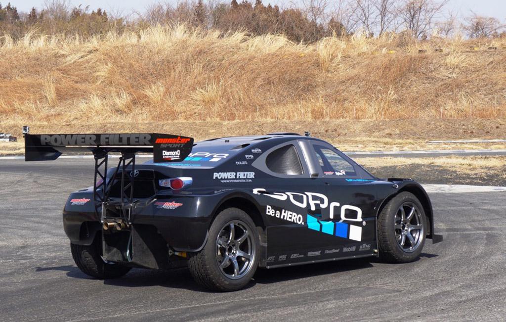 Meet Monster Tajima S Toyota Gt Pikes Peak Racer Video