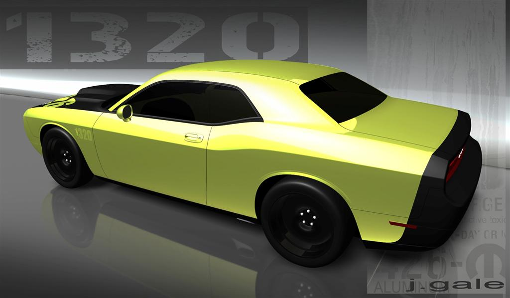 Chrysler Bringing 556 Horsepower Mopar Dodge Challenger