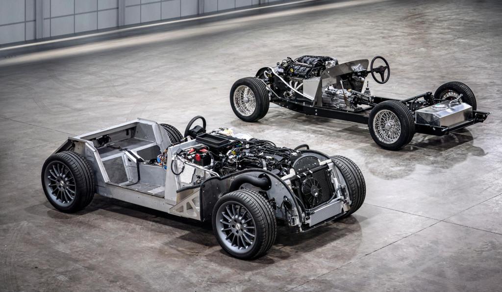 Morgan CX-Generation aluminum platform