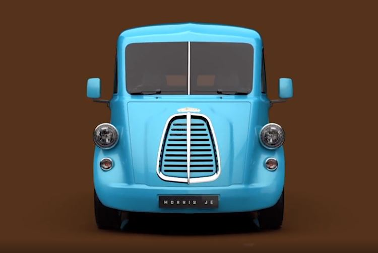 Morris retro-cute electric delivery van: pricing and more info