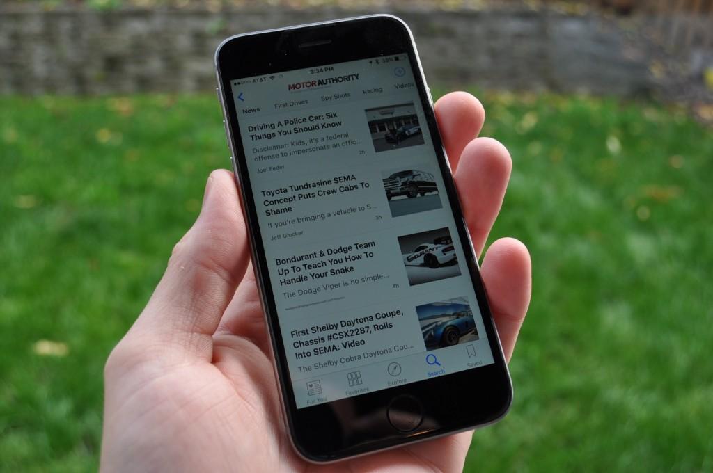 Motor Authority On Apple News