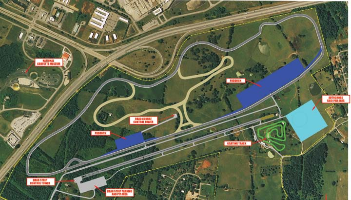 Motorsports Park at the National Corvette Museum