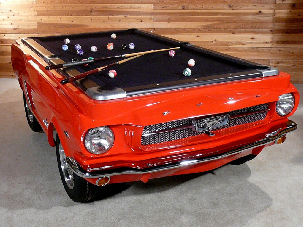 Last-Minute Shopper: 1965 Ford Mustang Pool Table