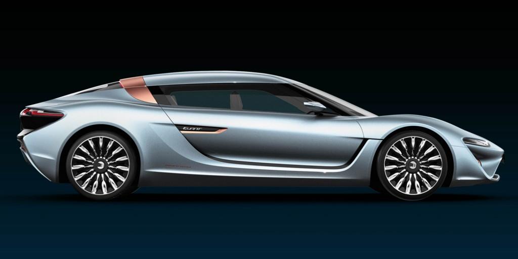 nanoFLOWCELL Quant e-Sportlimousine concept, 2014 Geneva Motor Show
