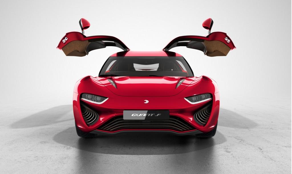 nanoFLOWCELL Quant F concept, 2015 Geneva Motor Show