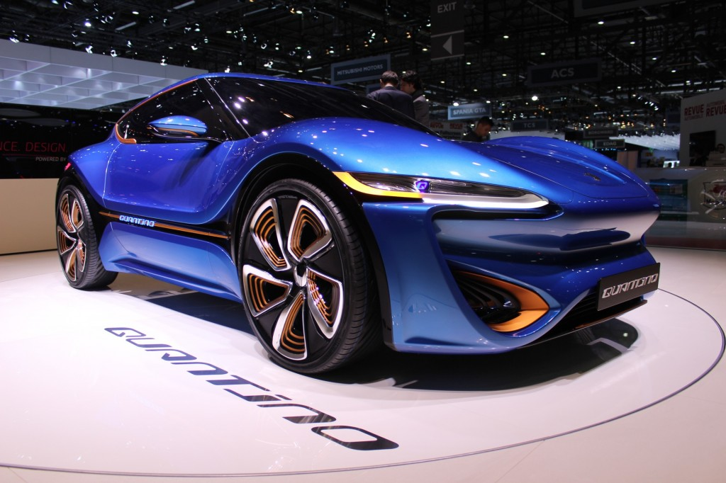 nanoFlowcell Quantino concept, 2015 Geneva Motor Show