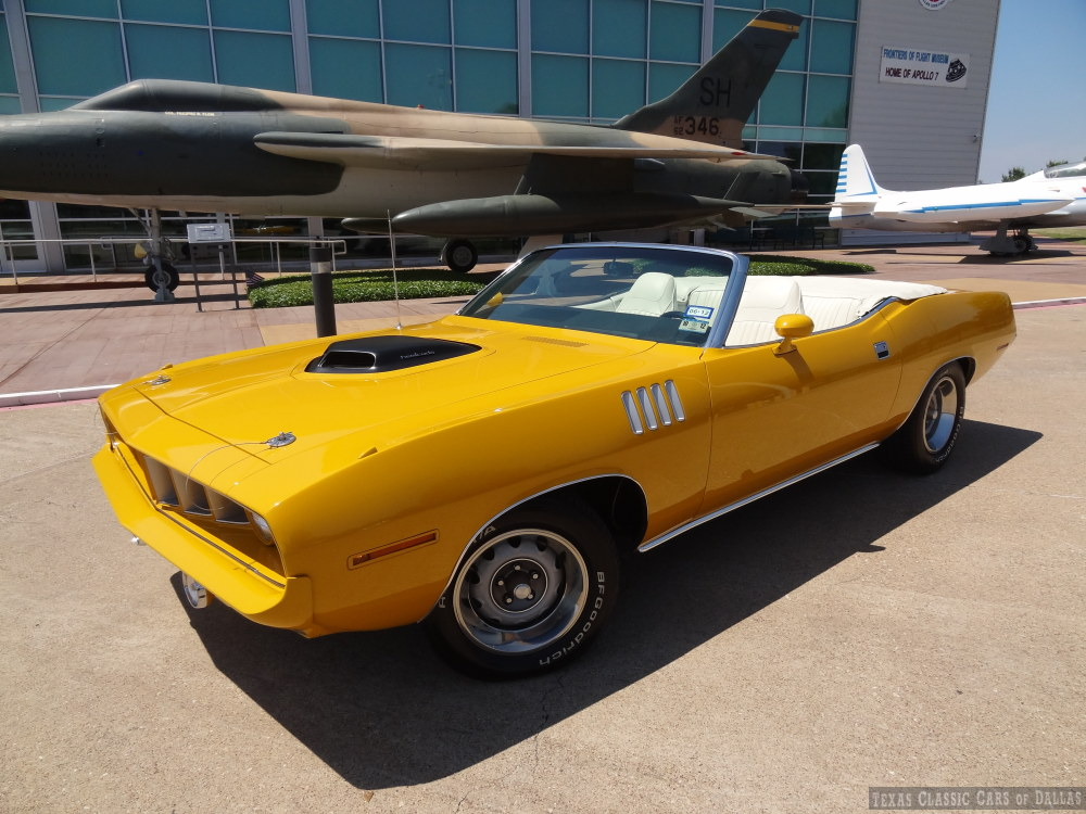 Auto Of Dallas >> 'Nash Bridges' 1970 Plymouth 'Cuda Convertible For Sale On Ebay