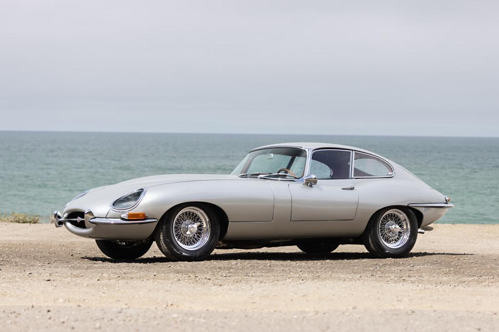 Neil Pearts 1964 Jaguar E-Type Coupe, image courtesy Gooding & Company.  Photo by Brian Henniker.