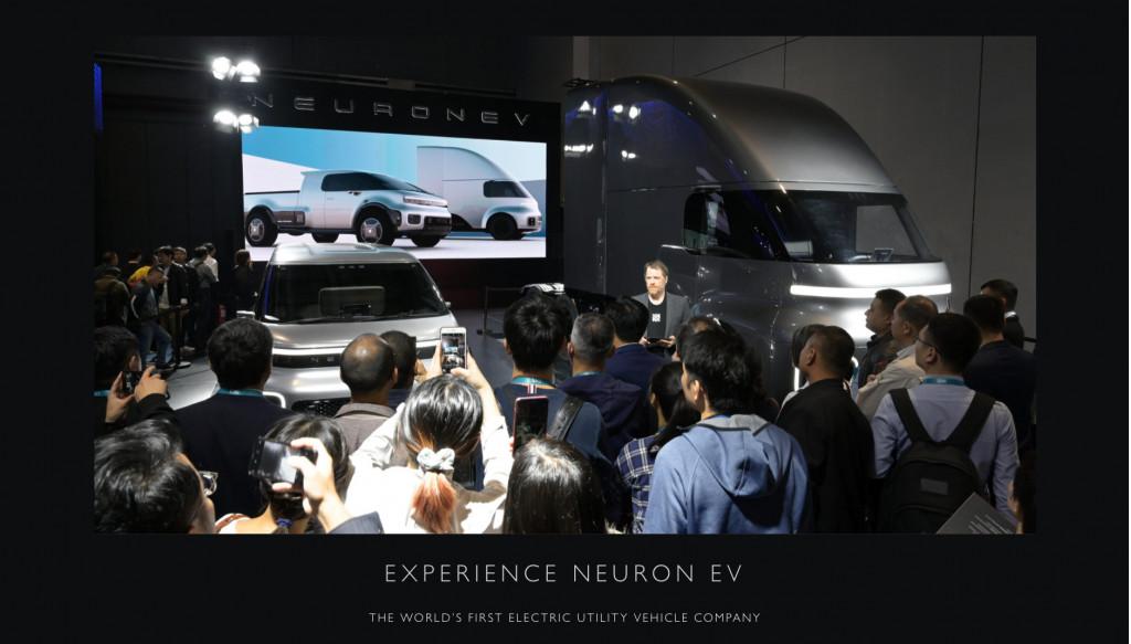 Neuron EV debut