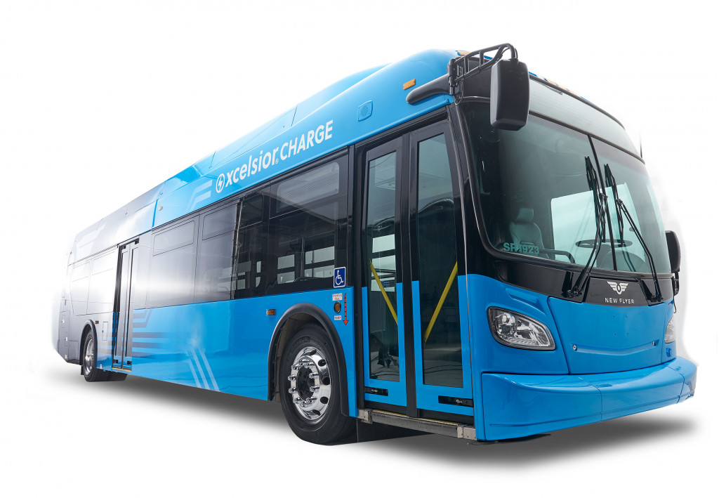 New Flyer Xcelsior Charge electric bus