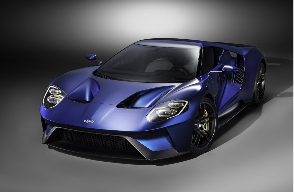 New Ford GT supercar