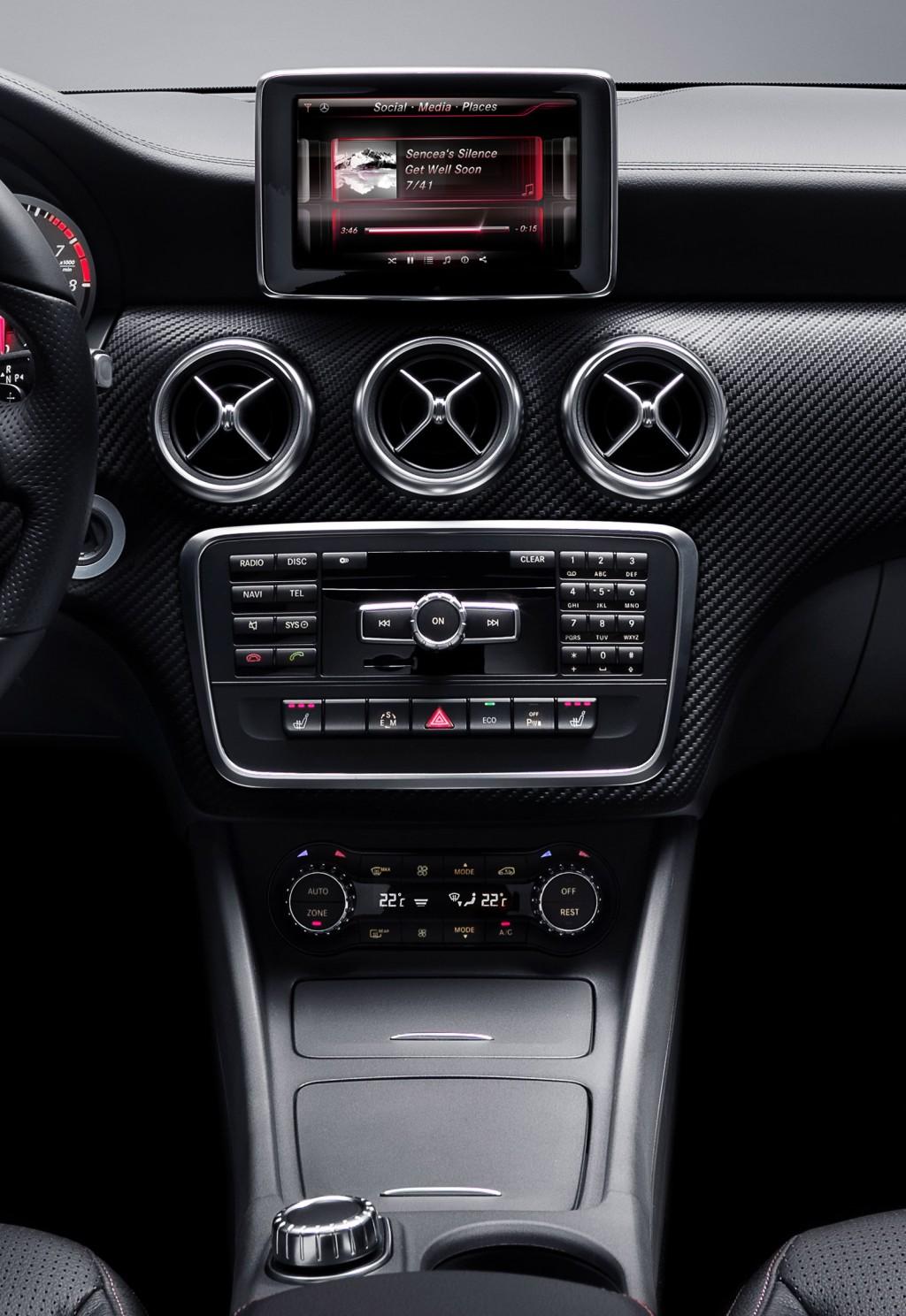 New Mercedes-Benz A Class interior